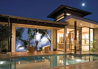 outdoor home cinema entertainment